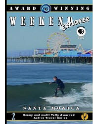 Santa Monica, California - Travel Video - DVD.