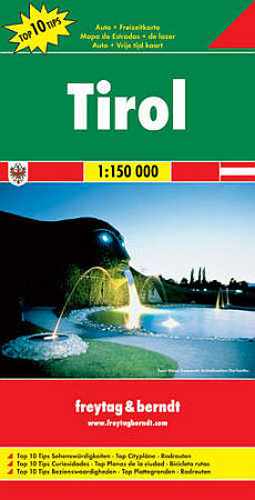 Tyrol. Scale 1:150,000.