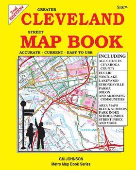 Cleveland Greater Street ATLAS, Ohio, America.