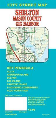 Gig Harbor and Key Peninsula, Washington, America.