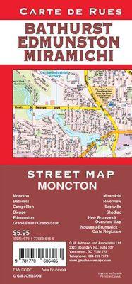 Moncton, Edmundston, Miramichi and Bathurst, New Brunswick, Canada.
