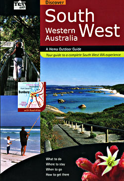 Western Australia, South West, Tourist Road ATLAS.