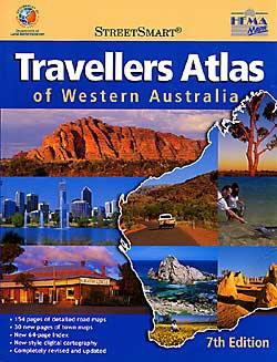 Travellers Atlas of Western Australia.