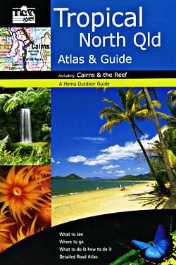 Queensland Tropical North, Tourist Road ATLAS, Australia.