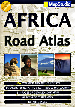 """Africa """"ULTIMATE"""" Road and Tourist Road ATLAS."""