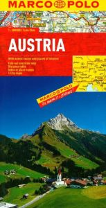 Austria Road and Tourist Map. Marco Polo edition.