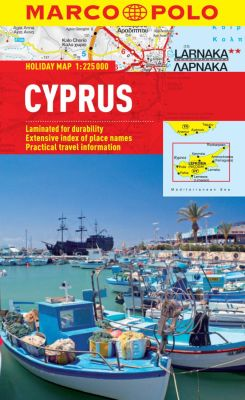 Cyprus Road and Tourist Map. Marco Polo edition.