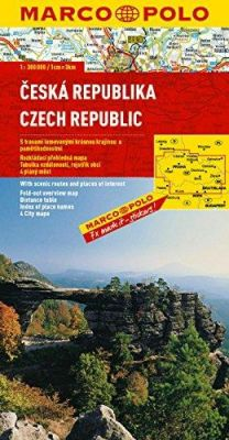 Czech Republic Road and Tourist Map. Marco Polo edition.
