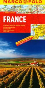 France Road and Tourist Map. Marco Polo edition.