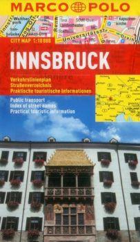Innsbruck City Street Map. Marco Polo edition.