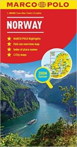 Norway Road and Tourist Map. Marco Polo edition.