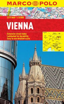 Vienna City Street Map. Marco Polo edition.