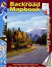 Alberta, Southwestern Map Book, Road and Recreation ATLAS, Canada.