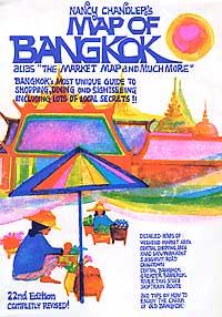 "BANGKOK ""Market Map"", Thailand."